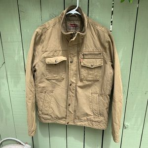 Levi's Mens' Khaki Jacket